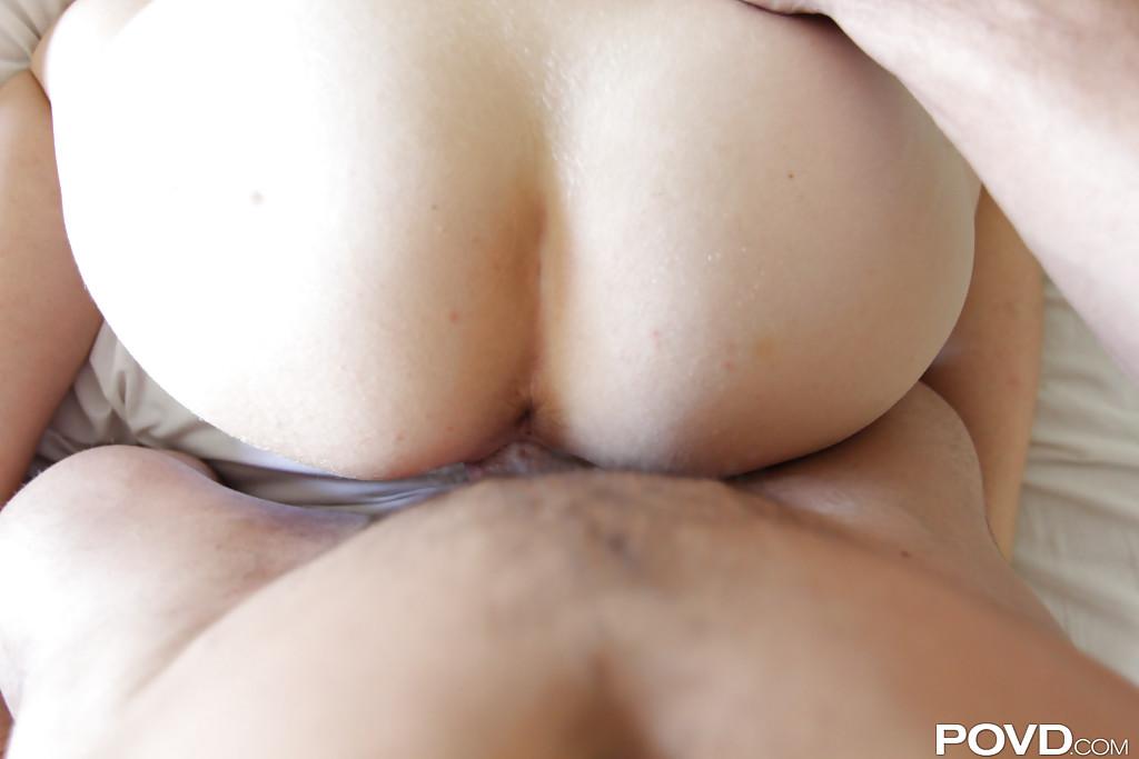 Партнер снимает крупным планом секс с очаровательной Ali Rae - фото #11