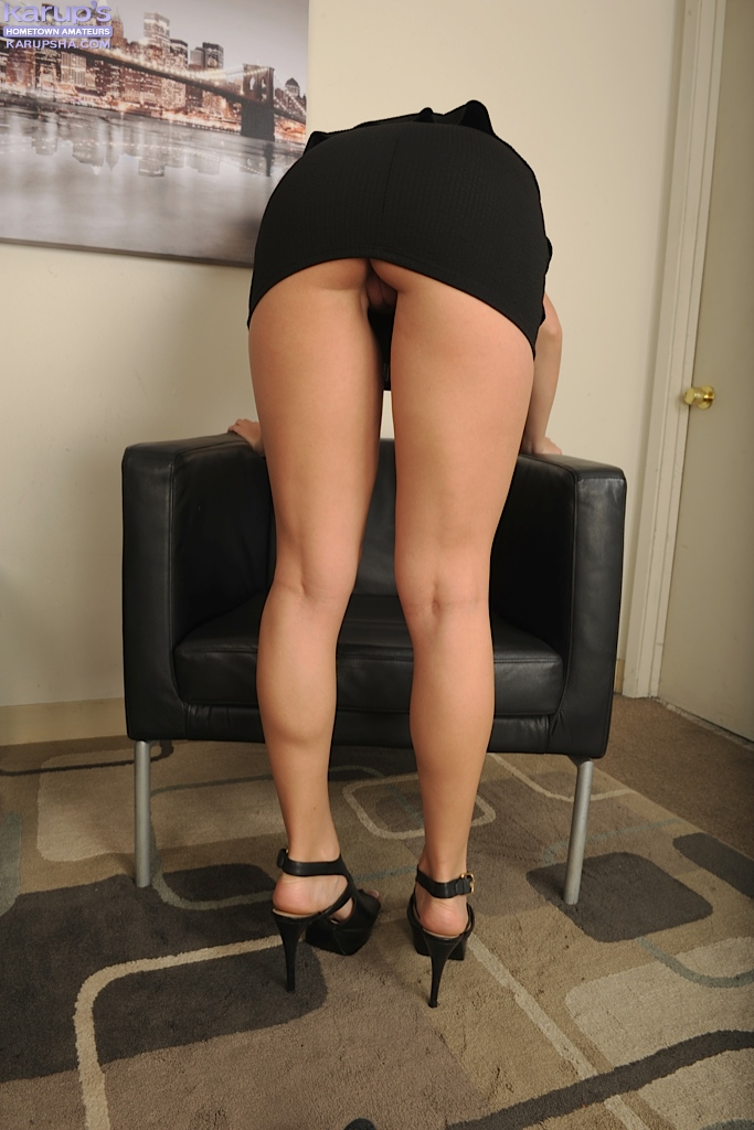 Блондинка Xandra Sixx мастурбирует после работы - фото #8