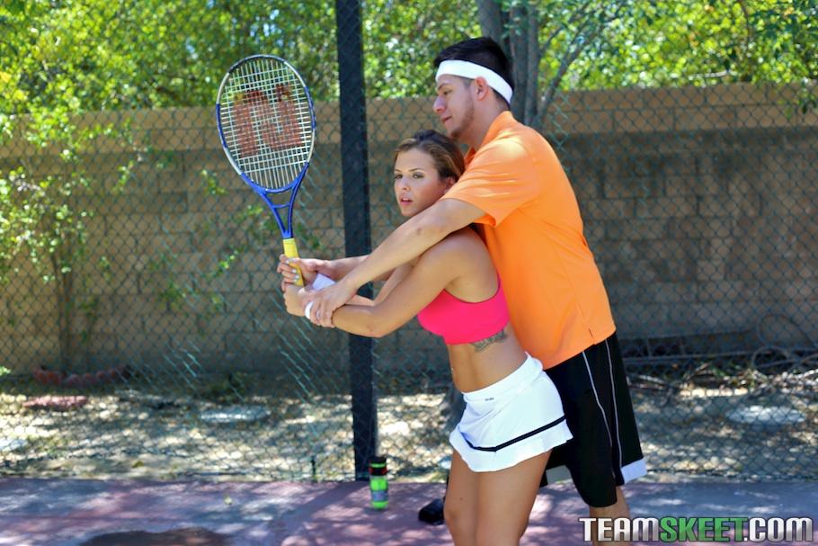 Теннисистка Кейша Грей снова проиграла тренеру партию