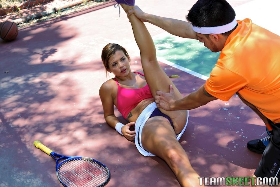 Теннисистка Кейша Грей снова проиграла тренеру партию - фото #6