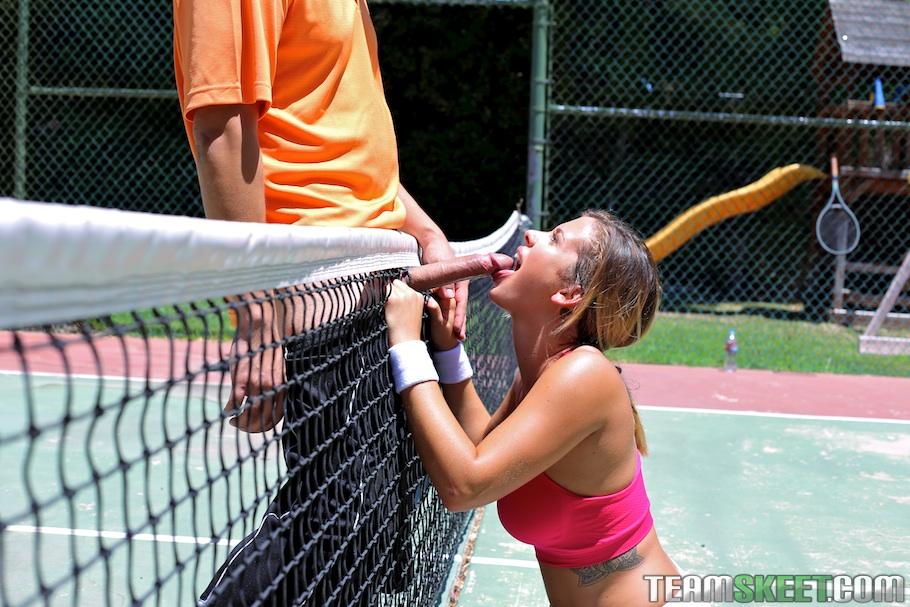 Теннисистка Кейша Грей снова проиграла тренеру партию - фото #11