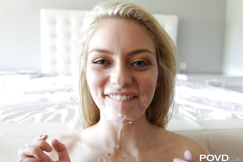 Партнер снимает крупным планом секс с очаровательной Ali Rae - фото #14